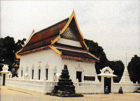 อุโบสถหลังนี้ได้รับพระราชทานวิสุงคามสีมาเมื่อ พ.ศ. 2371